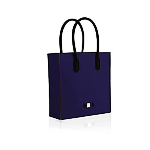 save my bag LE SAC Shopping Donna Blu PZ