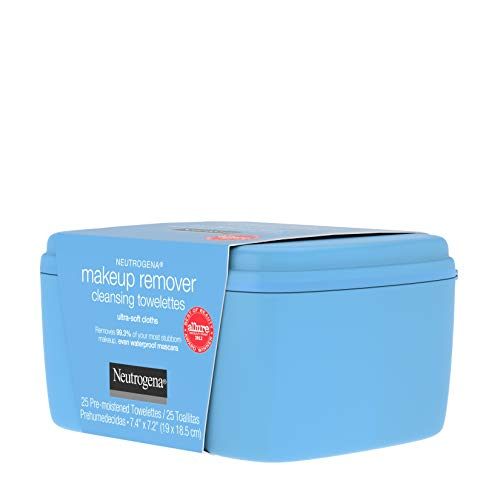 Neutrogena Makeup Remover Facial Cleansing Towelettes, Daily Face Wipes to Remove Dirt, Oil, Makeup & Waterproof Mascara, Gentle, Alcohol-Free, 25 ct 7