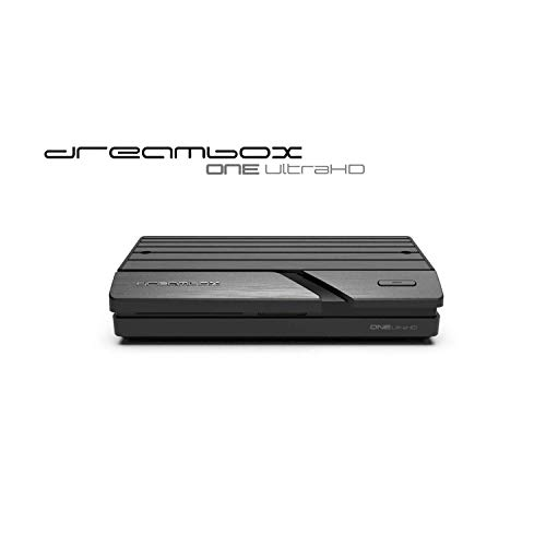 Dreambox One Ultra HD 2x DVB-S2X Multistream Tuner (4K, 2160p, E2 Linux, Dual Wifi H.265, HEVC)