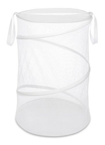 Whitmor 18' Collapsible Laundry Hamper White