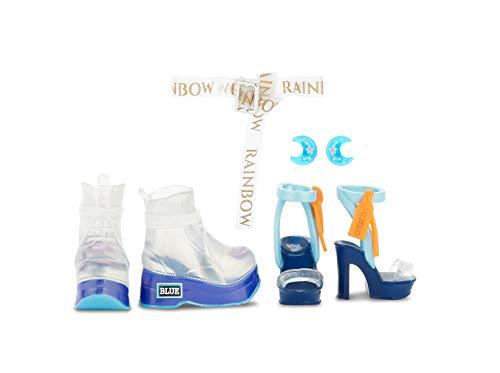 Image 4 - Rainbow High Poupée Mannequin - Skyler Bradshaw – Poupée thème bleu avec tenues luxueuses, accessoires et socle - Série 1 - Parfait pour les filles de 6 ans et plus