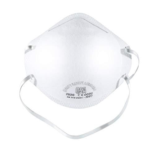 IronHeel FFP2 Maschera antipolvere di alta qualità Maschera protettiva Maschera calda Forniture per la protezione del lavoro Maschera quotidiana - 6PCS