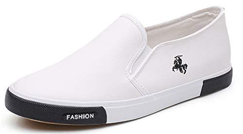 PPXID - Zapatillas de verano para hombre, blanco, 39 EU