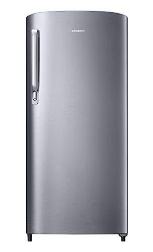 Samsung 192 L 2 Star Direct Cool Single Door Refrigerator (RR19A241BGS/NL, Grey Silver)