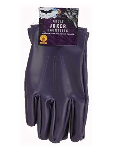 Rubie's, Costume Ufficiale The Joker Guanti, per Adulti, Taglia Unica