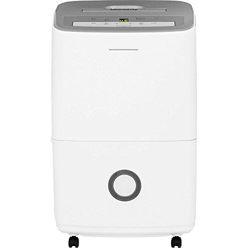 Frigidaire 30-Pint Dehumidifier, Gray & White