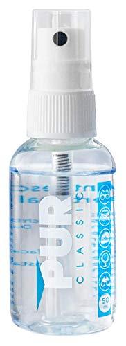 PUR CLASSIC Antibeschlag Spray 50 ml | PREMIUM Made in Germany | universell einsetzbar | ideal geeignet für Brillen, Skibrillen, Sportbrillen u. Taucherbrillen, Autoscheiben, Helmvisiere usw.