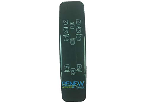 Beautyrest Renew Plus Remote Control for Adjustable Beds