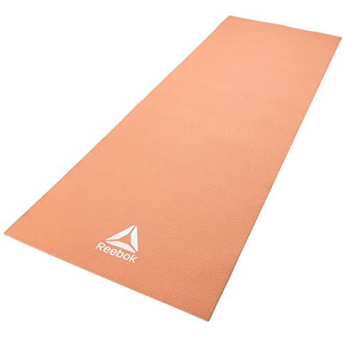 Reebok Estera de Yoga - Naranja, 4 mm