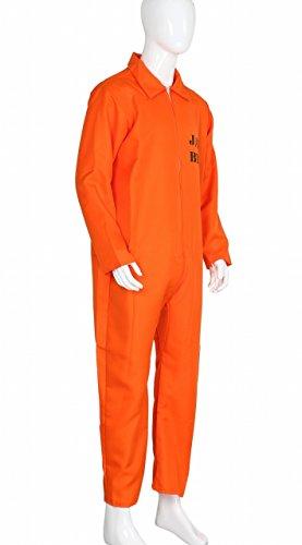 next.design 囚人服 オレンジ 成人用フリーサイズ
