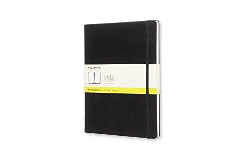 モレスキン ノート クラシック ノートブック ハードカバー プレーン(無地) XLサイズ ブラック QP092