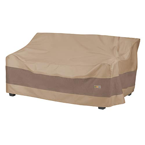 Duck Covers Elegant Water-Resistant 87 Inch Patio Sofa Cover