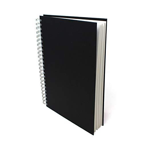 Artway Studio - Skizzenbuch mit Spiralbindung - säurefreies Zeichenpapier - Hardcover - 48 Blatt mit 170 g/m² - A4 Hochformat