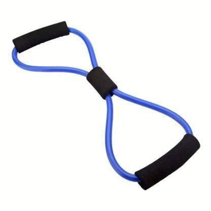 Ossden Yoga Soft Expander Latex Figure 8- Shape Yoga Fitness Workout Toning Resistance Tube Exercise Band for Women