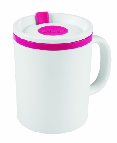 Copco Desk Insulated Mug, 16 ounce, Pink