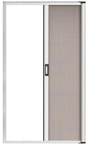 CRL RDS84W White 84' Euro Retractable Screen Door Kit