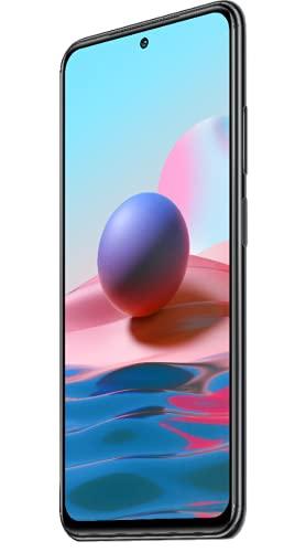 "Xiaomi Redmi Note 10 Smartphone RAM 4GB ROM 128GB 6.43"" AMOLED DotDisplay 5000mAh (typ) Batterie 33W Schnellladung 48MP Wide-Angle Kamera Grau [Globale Version]"
