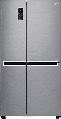 LG 687 L Frost Free Side-by-Side Refrigerator(GC-B247SLUV.APZQEBN, Platinum Silver, Inverter Compressor)