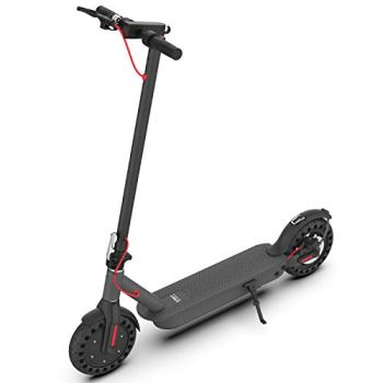 """Hiboy S2 Pro Electric Scooter - 10"""" Solid Tires - 25 Miles Long-range & 19 Mph Folding Commuter Electric Scooter for Adults"""