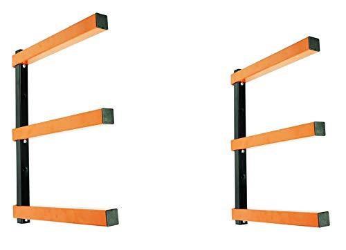 KASTFORCE KF1004 Lumber Storage Rack 3-Level System 110lbs per Level with Durable Sheet Metal...