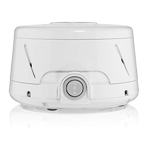 Dohm Classic (White) | The Original White Noise Machine | Soothing Natural Sound from a Real Fan | Noise Cancelling | Sleep Therapy, Office Privacy, Travel | For Adults & Baby | 101 Night Trial