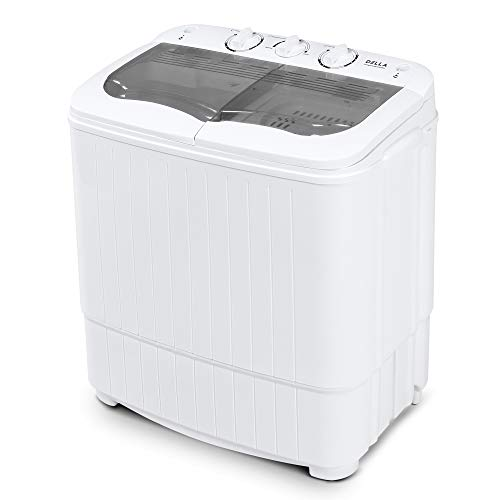 Della Mini Electric Washing Machine Home Twin Tub 8.8LBS...