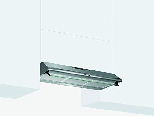 Glem Gas GHC831IX - Cappa da cucina, Installazione Sottopensile, Aspirante, Dimensioni 80x52 cm, colore Inox