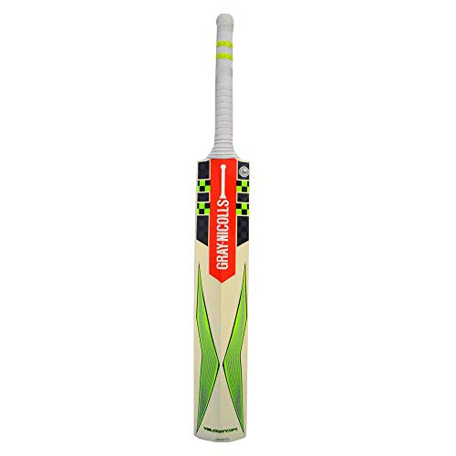 Gray-Nicolls I922906 G English-Willow Cricket Bat, Size 6 Junior (Black/Green)