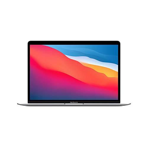 Apple MacBook Air con Chip Apple M1 (13 Pulgadas, 8 GB de RAM, 256 GB de SSD) - Plateado (Reacondicionado)