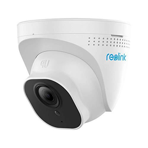 Reolink IP Poe Telecamera di Sicurezza da 5MP Super HD, Telecamera da Sorveglianza Videosorveglianza Poe, Rilevazione di Movimento, Allarme Inteligente, RLC-520-5MP (Nuovo Aspetto di RLC-420-5MP)