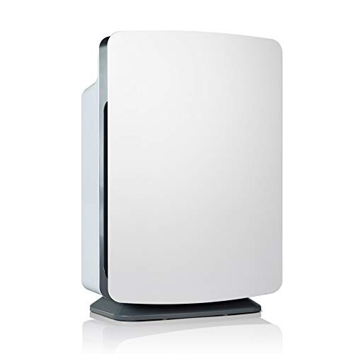 Alen BreatheSmart Classic Large Room Air Purifier, Medical Grade Filtration H13 True HEPA for 1100 Sqft, 99.99% Airborne Particle Removal, Captures Allergens, Dust, Pet Dander, Odors in White