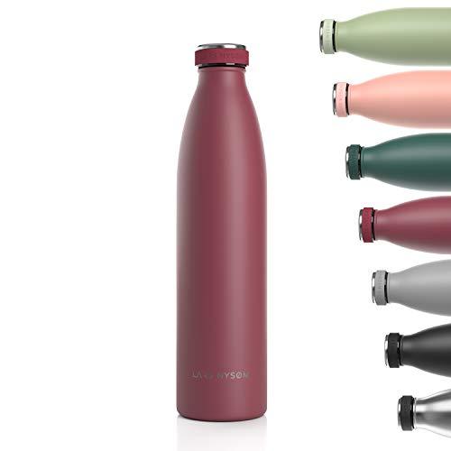 Lars NYSØM Gourde INOX 1000ml   1L Bouteille d'eau isolée sans BPA  ...