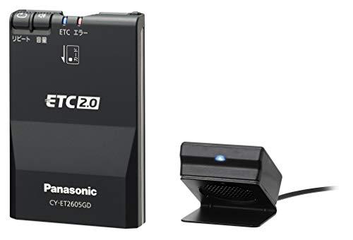 パナソニック(Panasonic) ETC車載器 ETC2.0(DSRC) 新セキュリティ対応 GPS付 【ナビ非連動型】 CY-ET2605GD