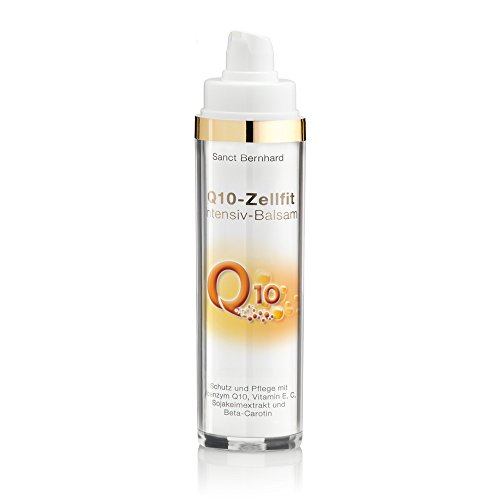 Sanct Bernhard Q10 Zellfit Intensiv Balsam mit Q10, Vitamin E,C, Sojakeimextrakt, Beta-Carotin 50 ml