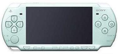 Sony Playstation Portable (PSP) 2000 Series Handheld Gaming Console System (Pearl Seafoam Green)(Renewed)