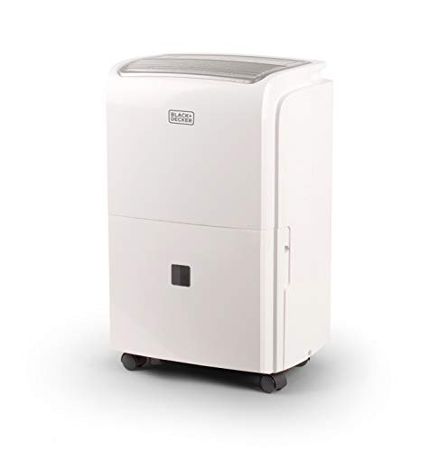 BLACK+DECKER BDT50WT 50 Pint Portable Dehumidifier, White