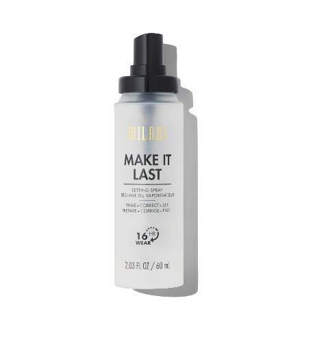 Milani Make It Last 3-in-1 Setting Spray - Prime + Correct + Set (2.03 Fl. Oz.) Cruelty-Free Makeup Setting Spray - Long Lasting Makeup Spray
