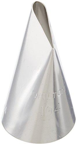 Wilton 402-104 Petal Decorating Tip