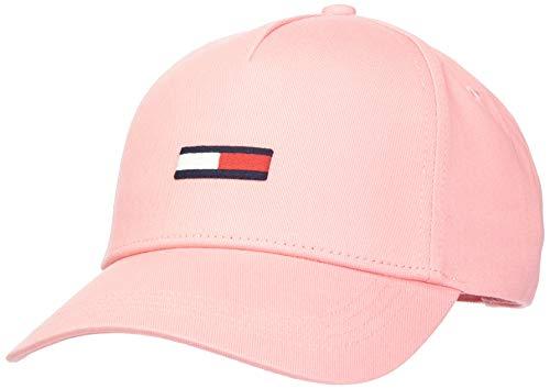 Tommy Jeans Damen Tjw Flag Cap Schirmmütze, Pink (Pink Tf4), One Size