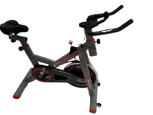 Monex Sports Spin Bike   Smooth & Quiet Stationary Spin Bike   Fully Adjustable W/Heart Rate Sensor -Multi Colors