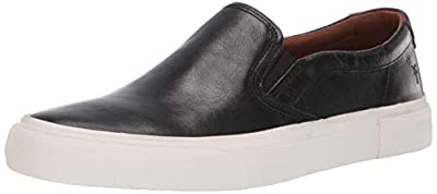 Slip-on style with dual side gore panel for easy on and off. Canvas upper with suede trim. Breathable canvas lining. Durable rubber and man-made outsole.