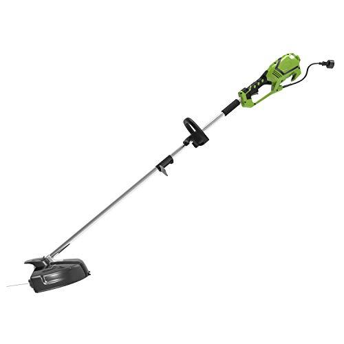 Greenworks 1301807 Decespugliatore e tagliabordi elettrico 2 in 1, 1200W