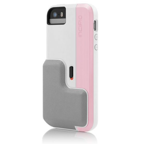 Incipio Focal Bluetooth Low Energy-Enabled Enhanced Camera Case for iPhone 5s - Retail Packaging - Pink
