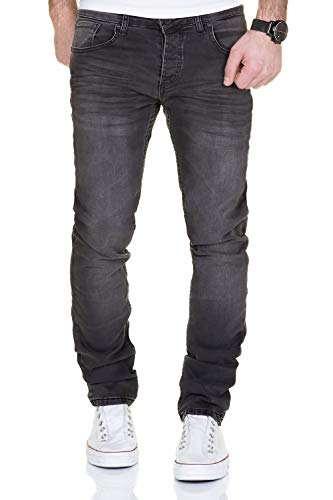 MERISH Jeans Herren Destroyed Hose Used-Look Jeanshose Männer Denim...