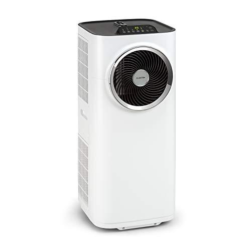 KLARSTEIN Kraftwerk Smart - Climatiseur Mobile, Déshumidificateur, Ventilateur, Minuterie programmable, Contrôle Via Application WiFi, Télécommande, 10000BTU/h - Blanc