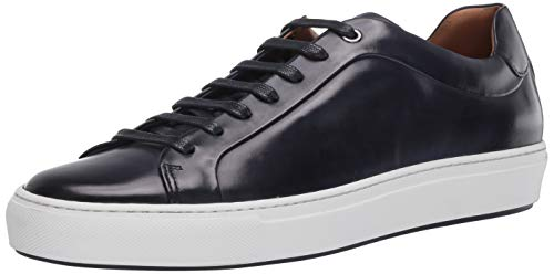 BOSS HUGO BOSS Men's Sneaker, Dark Blue, 9 M US