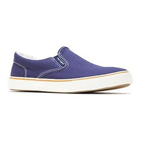 Hush Puppies - Zapatos Deportivos Byanca de Tela y Piel para Mujer señora (36 EU) (Azul Marino Tela)
