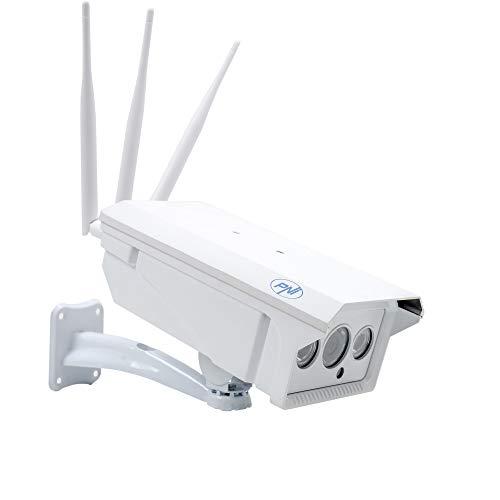 Videocamera di videosorveglianza Slot GSM 4G SIM PNI IP30 live 1.3MP, per esterni e interni