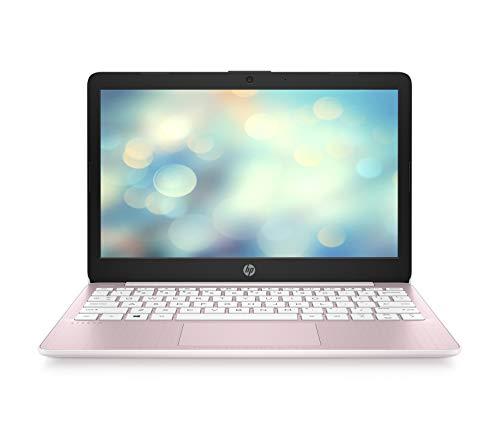 HP Stream 11-ak0013ng (11,6 Zoll / HD) Laptop (Intel Celeron N4000 dual, 4GB DDR4 RAM, 64GB eMMC, Intel UHD-Grafik 600, Windows 10 inkl. Microsoft Office 365 Personl) rosa