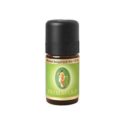 PRIMAVERA Ätherisches Öl Rose bulgarisch bio 10% 5 ml - Aromaöl, Duftöl, Aromatherapie - harmonisierend, stimmungserhellend, stärkend - vegan
